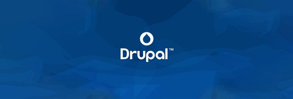 Logo drupal au centre